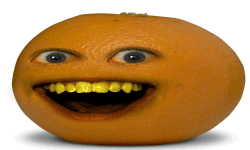 I EAT ORANGE